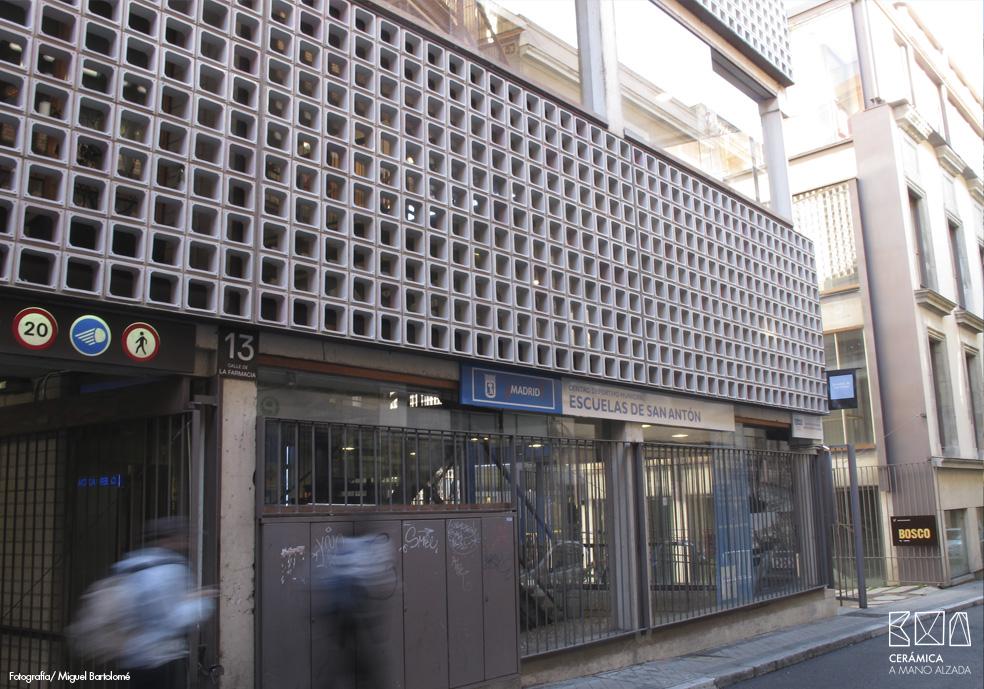 11_Celosia ceramica-Colegio-de-arquitectos-Madrid-ceramica a mano alzada