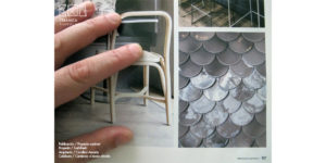 Escamas ceramicas y el Sushifresh en Proyecto contract