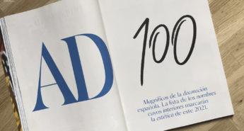 AD100 2021 interioristas españoles cerámica a mano alzada